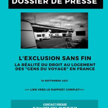 Dossier de presse – Rapport ODCI – L'exclusion sans fin